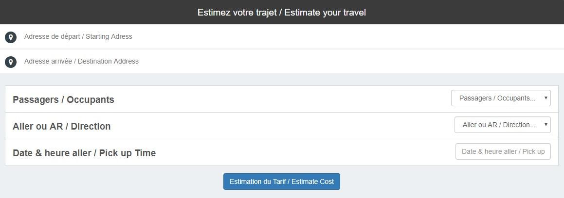 Commande Taxi à l'Aéroport de Marseille en ligne