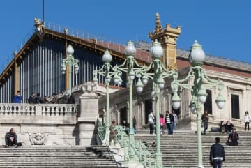 Transfer Marseille train station to Marseille airport with cab